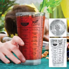 Good Measure 16-oz Hangover Remedy Cocktails Recipe Glass
