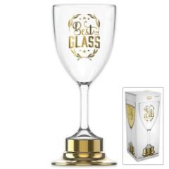 Best In Glass Trophy Wine Glass