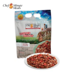 Self-Heating 5-Minute Backpack Meal Kit – Beef Chili With Beans