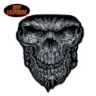 Hot Leathers Giant Skull Patch
