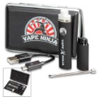 Vape Ninja Kato Micro Vape Pen With Case - Wickless Dual Coil, Concentrates Quartz Atomizer, USB Charger
