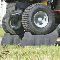 RhinoGear EZ Lift Lawnmower, ATV Ramps - 500-lb Capacity - Two Lifts