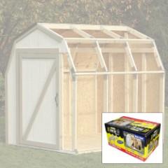 2x4 Basics DIY Shed Kit - Barn Roof Style