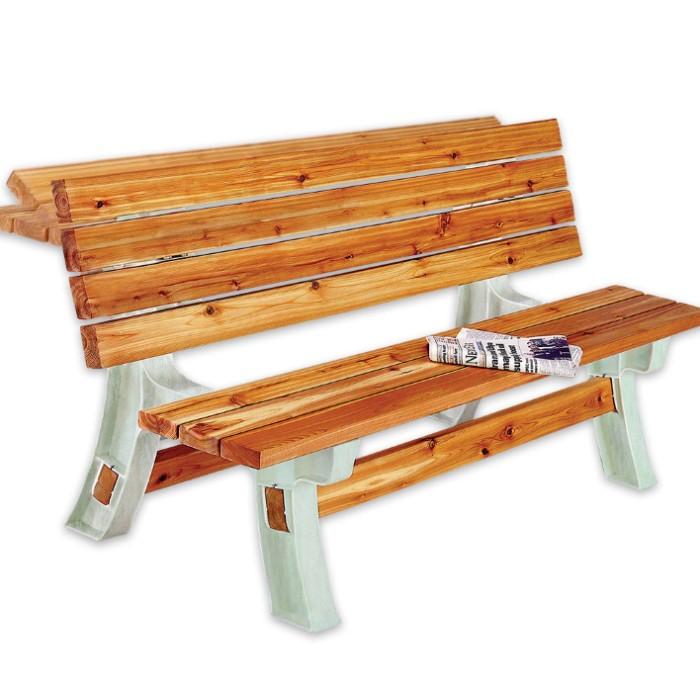 2x4 Basics Flip Top Bench Table Building Kit Kennesaw
