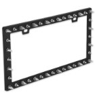 3-D Spikes License Plate Holder - Standard Size