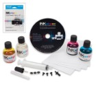 INKtelligence Inkjet Printer Ink Cartridge Refill Kit - Color (Cyan/Magenta/Yellow)