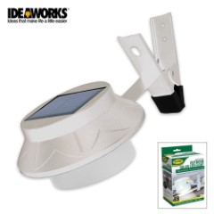 Outdoor Solar LED Light White