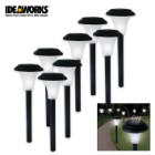 Set Of 8 LED Solar Accent Lighting
