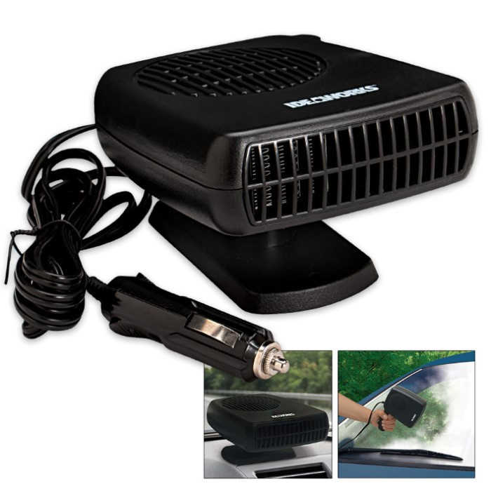portable auto heater defroster kennesaw cutlery. Black Bedroom Furniture Sets. Home Design Ideas