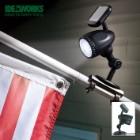 LED Solar Powered Flagpole Light