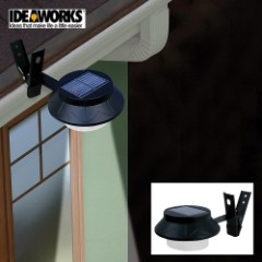Outdoor Solar LED Light - Black