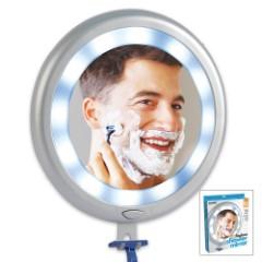 Fogless LED Shower Mirror