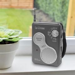 La Crosse AM-FM Handheld Weather Radio
