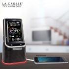 La Crosse Technology 3-in-1 Wireless Weather Station / Alarm Clock / Bluetooth Speaker