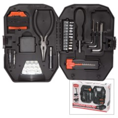FineLife Tool Products 22-Piece Tool Set with Case and Extendable LED Work Lamp