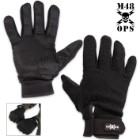 M48 Full Finger Gloves Black