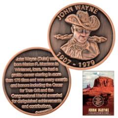 Officially Licensed John Wayne Collector's Coin