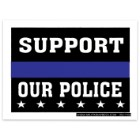 Support Our Police Mini Sticker – 3X4