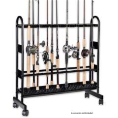 Industrial Metal Rod Rack