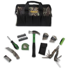 Olympia 51-Piece Camo Tool Bag Set