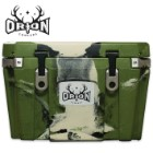 """Orion 35 Rugged Multifunction Cooler - """"Forest"""" Color/Pattern - 35-qt Capacity"""