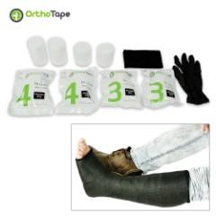 Short Leg Fiberglass Cast Kit – Black