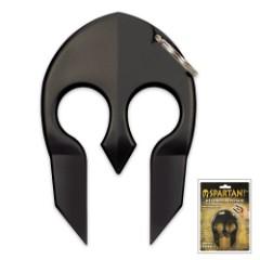 Spartan Black Self-Defense Key Chain