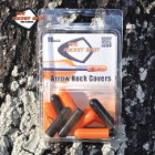 Pocket Shot Arrow Nock Caps - 10-Pack