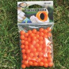 Pocket Shot 10 mm ABS Practice Ammo - Iridescent Orange - 100-Count Bag