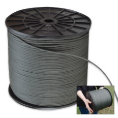 O.D. Nylon Braided Utility Cord 2,100 Feet Spool