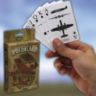 "WWII Aircraft Spotter Playing Cards - Plastic Coated, Full-Set Including Jokers, Three Airplane Views - Dimensions 3 1/2""x 2 1/2"""