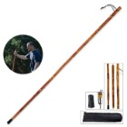 Detachable Wooden Walking/Hiking Stick 3 Piece