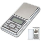 International Electronic Digital Pocket Scale - Five Units Of Measure, Automatic Calibration, Automatic Shut-Down, Flip-Open Lid