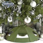 Snow Joe Holiday Rotating Tree Stand