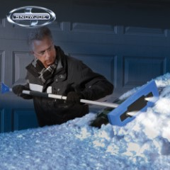 Snow Joe Snow Broom And Ice Scraper
