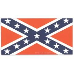 "Rebel / Confederate Battle Flag 4"" x 8"" Waterproof Car Magnet"