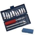 Deluxe 16 Piece Hobby Knife Set