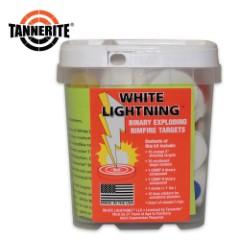 Tannerite White Lightning Rimfire Exploding Target Kit