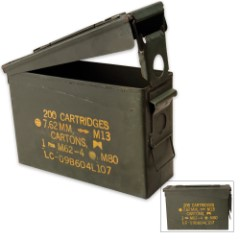 Major Surplus 30 Cal. Ammo Can