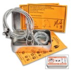 Vigilant Trails Survival Pocket Snares Kit - Three Aircraft Cable Snares With Micro-locks, Three Anchor Wires, Instructions