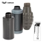 Valken Tactical Thunder V Sound Grenades - Burst Shell Variety 3-Pack with Core