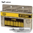 Valken 12 g CO2 Cartridges - 12-Pack