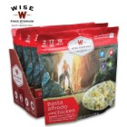 Wise Pasta Alfredo And Chicken - Two Servings, 15 Grams Protein, Seven-Year Shelf-Life, 3,720 Calories, Made In USA