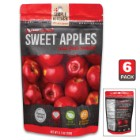 Simple Kitchen Freeze Dried Sweet Apples - Six-Pack, All-Natural Ingredients, Four-Servings Per Pouch, 80 Calories Per Pouch