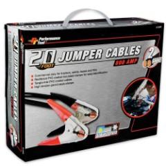 Battery Jumper Cables – 20 Ft. 2 Gauge
