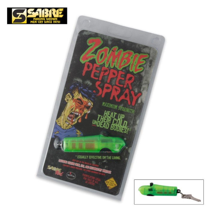 Zombie Pepper Spray