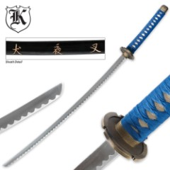 Fantasy Samurai Anime Katana Sword Of Calamity With Sheath