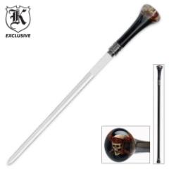Raging Skull Sword Cane