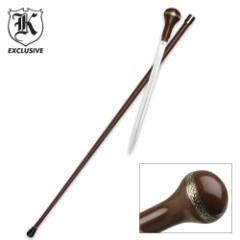 Midnight Debonair Sword Cane