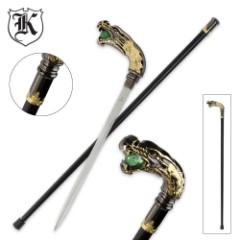 Roaring Dragon Custom Sword Cane